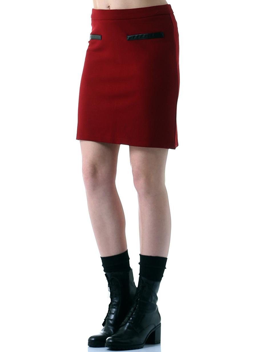 M Siyah Caramel Etek Kadın Giyim