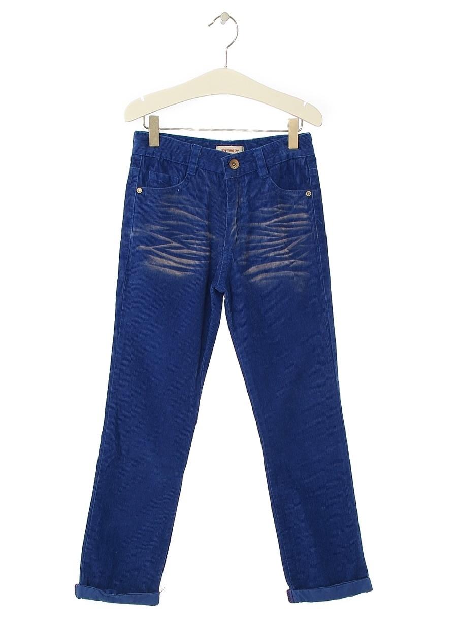 12 Yaş Erkek Saks Limon Pantolon Çocuk Giyim Tayt