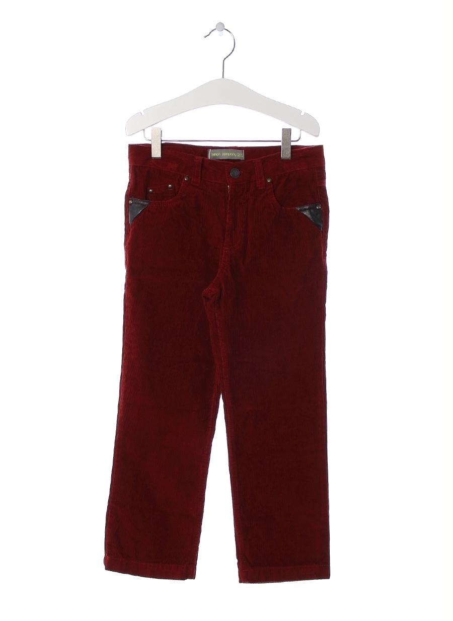 16 Yaş Erkek Şarap Limon Pantolon Çocuk Giyim Tayt