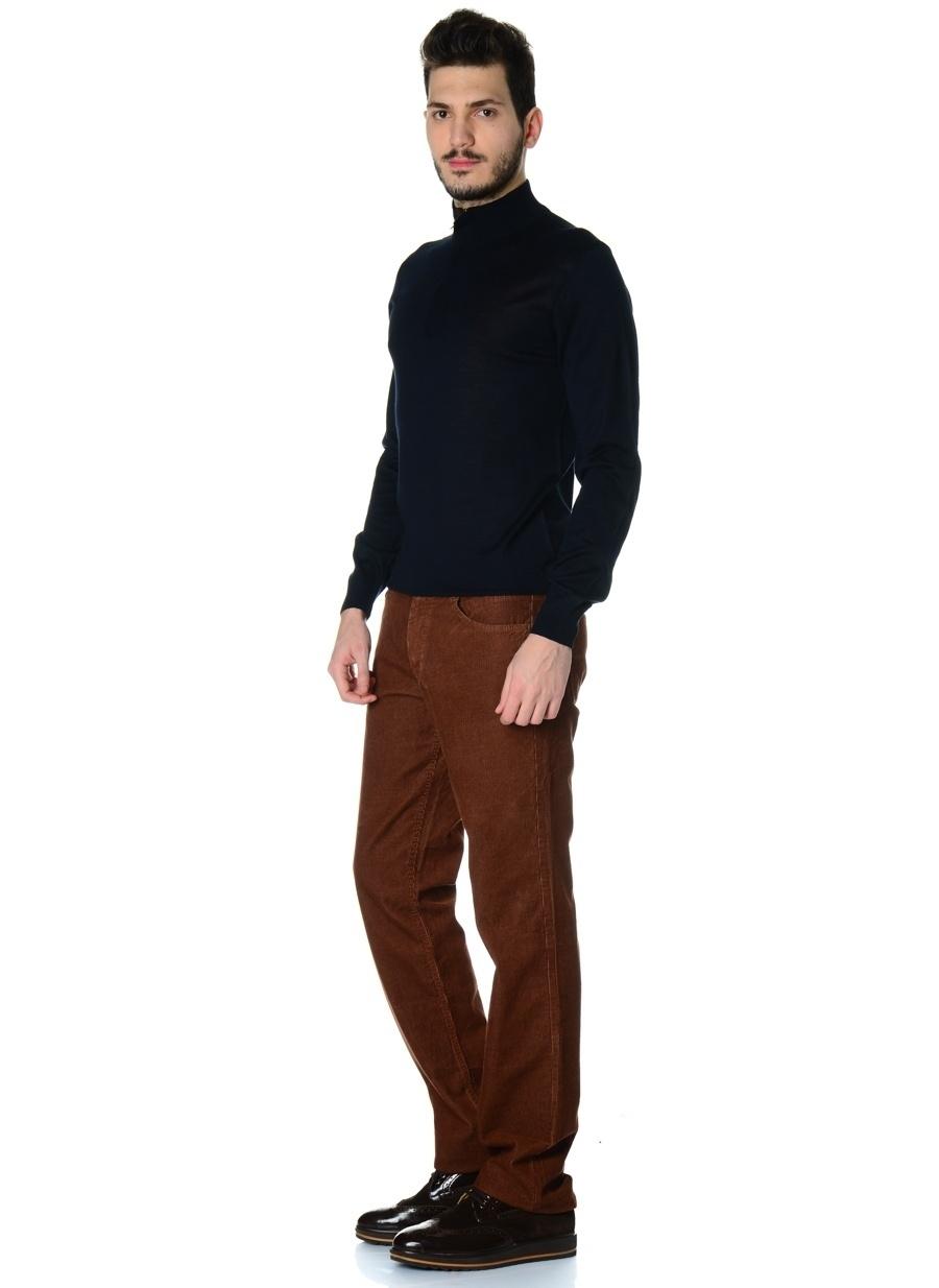 48 Kahve Volt Klasik Pantolon Erkek Giyim