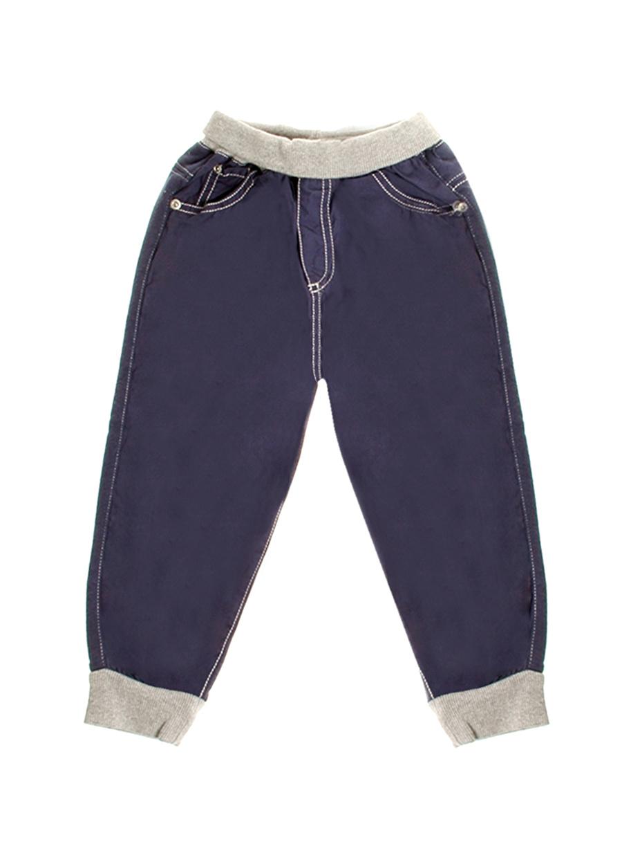 6 Ay unisex Mavi Prenatal Pantolon Çocuk Bebek Giyim