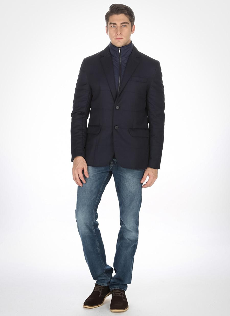 S Siyah Pi Ceket Erkek Giyim Yelek