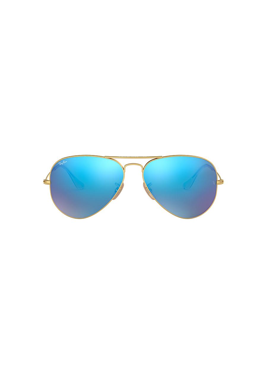 Standart Renksiz Ray-Ban Rbas Aviator Sun Güneş Gözlüğü Erkek Aksesuar Gözlük