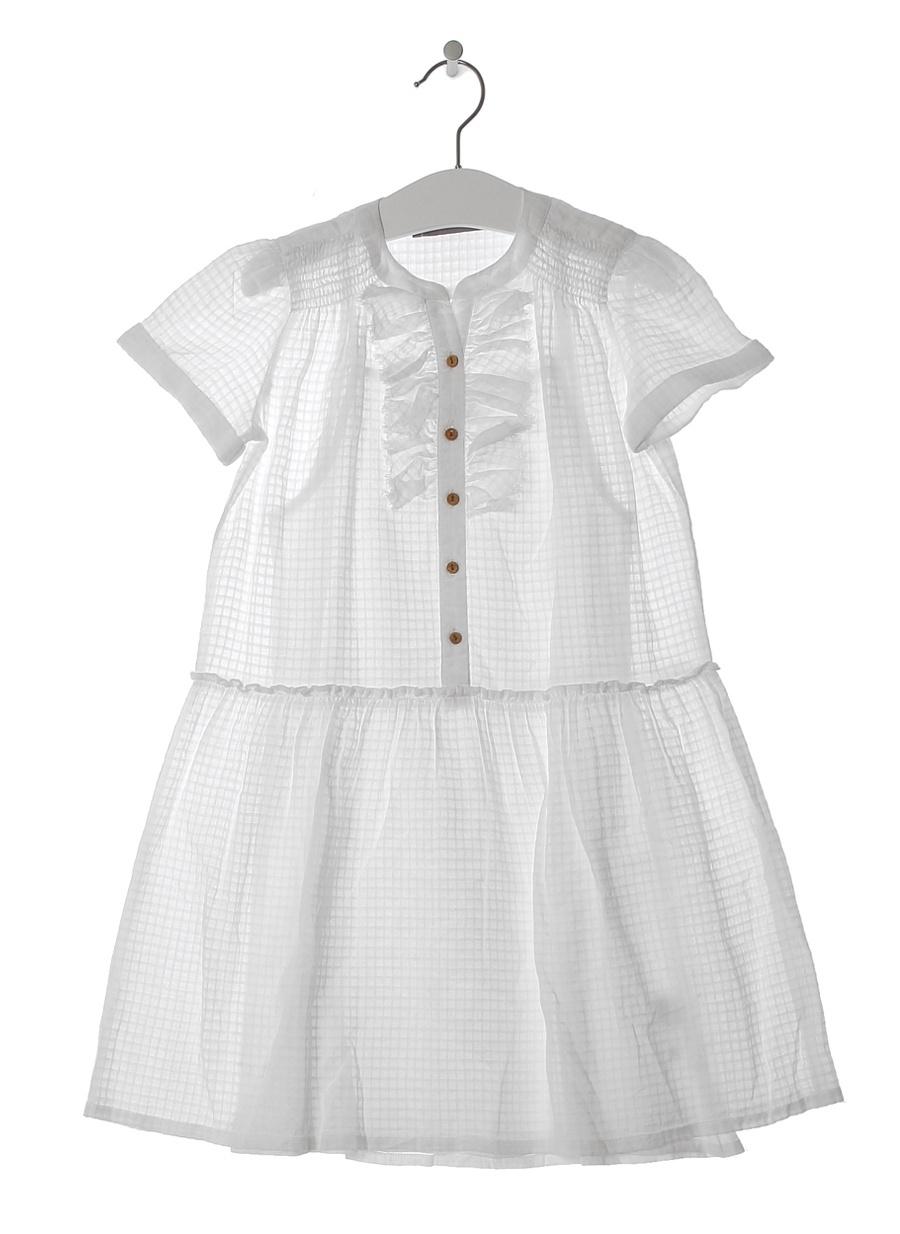 12 Yaş Kadın Beyaz Limon Bluz Çocuk Giyim