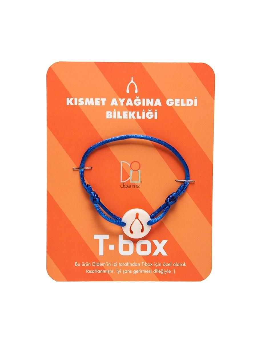 Standart unisex Çok Renkli T-Box Bileklik Kadın Aksesuar Takı