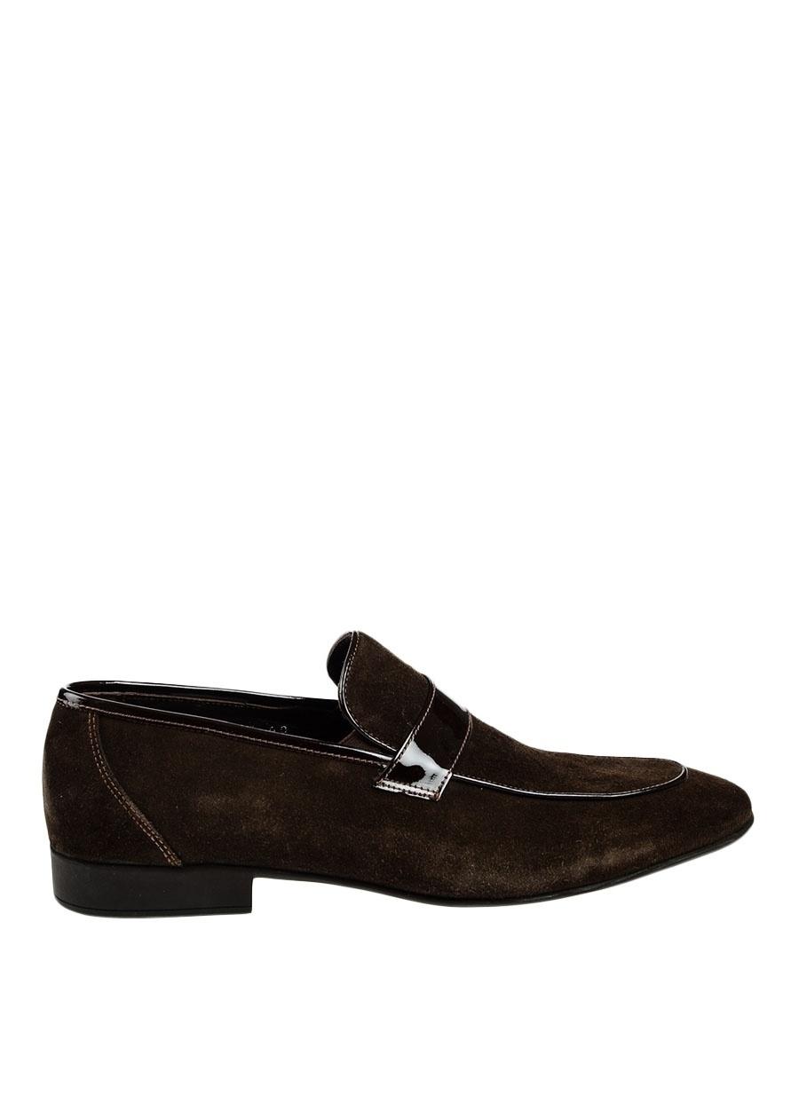 44 Kahve Pierre Loti Klasik Ayakkabı Çanta Erkek