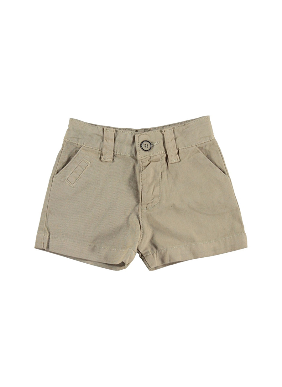 12 Ay Erkek Bej Mammaramma Şort Çocuk Giyim Capri