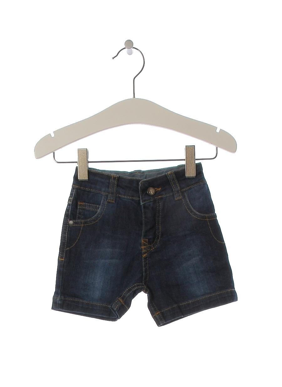 6 Ay Erkek Neon Lacivert Mammaramma Şort Çocuk Giyim Capri