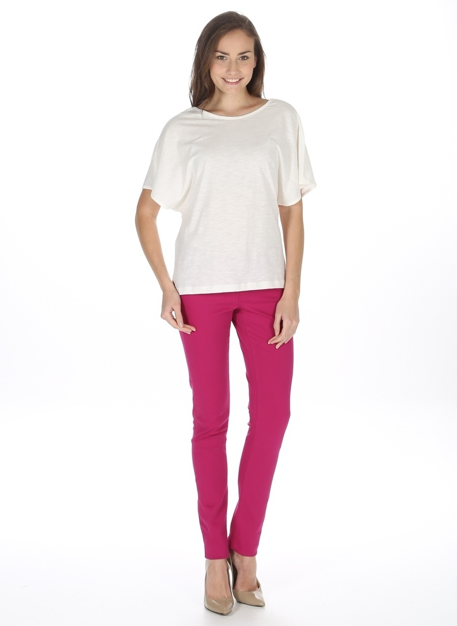 26 Açık Fuşya Vero Moda Pantolon Kadın Giyim