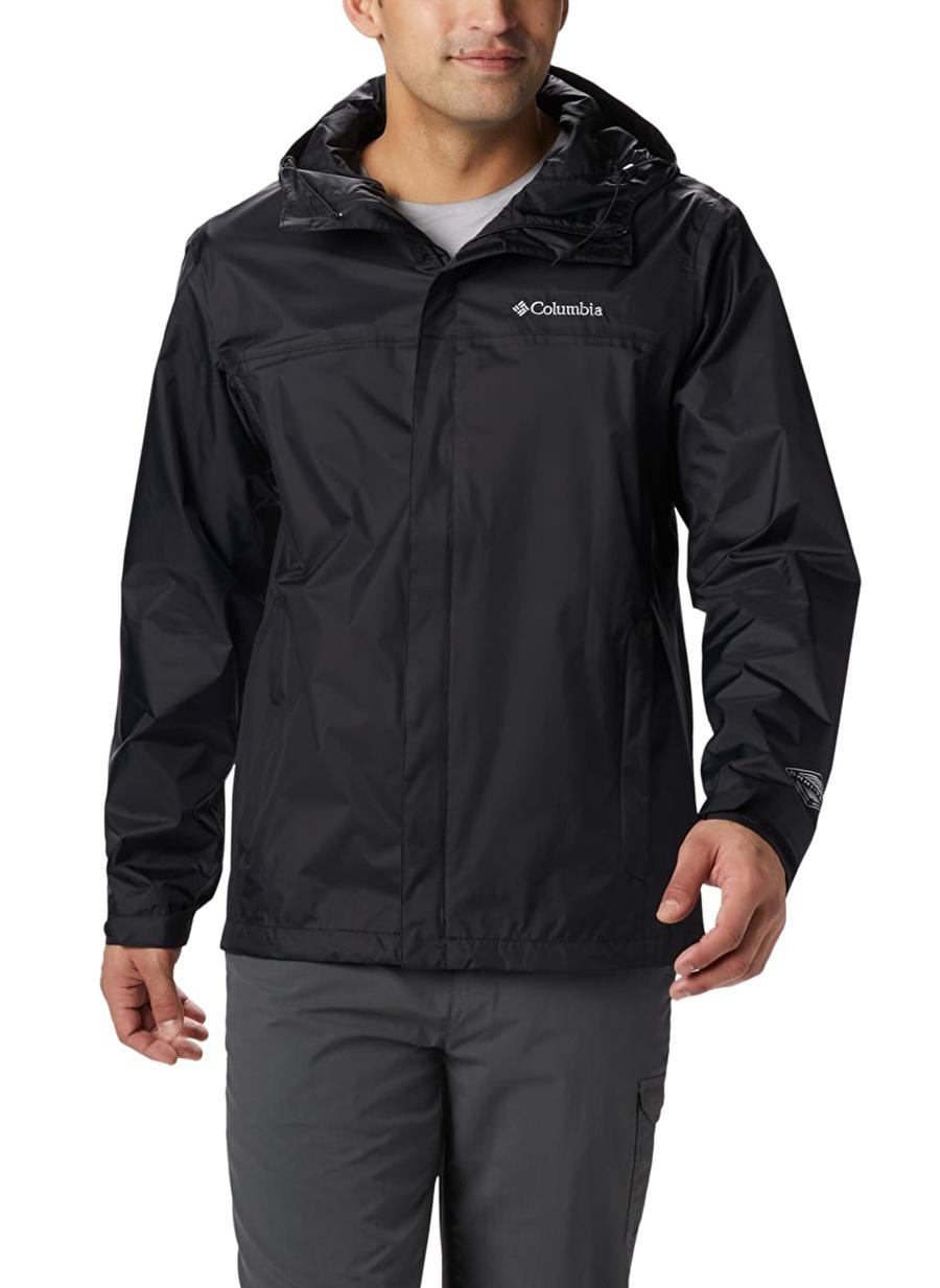 S Siyah Columbia Yağmurluk Spor Erkek Giyim Mont Ceket