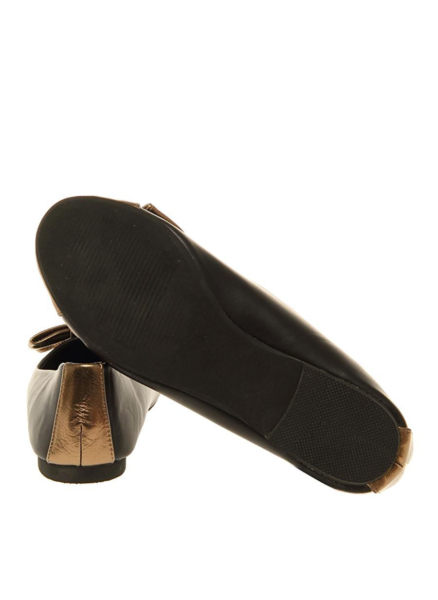 36 Siyah Casa Rossi Babet Ayakkabı Çanta Kadın