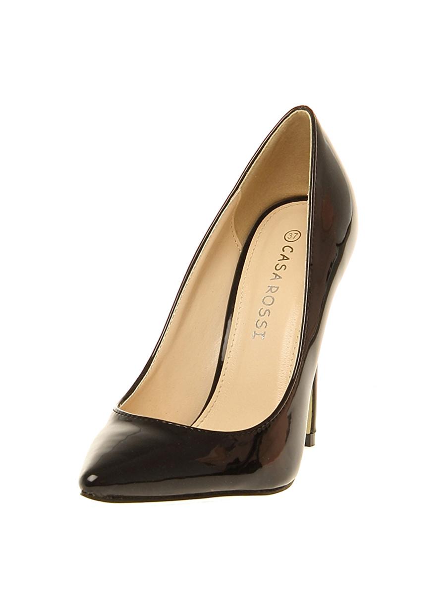 40 Siyah Casa Rossi Düz Ayakkabı Çanta Kadın