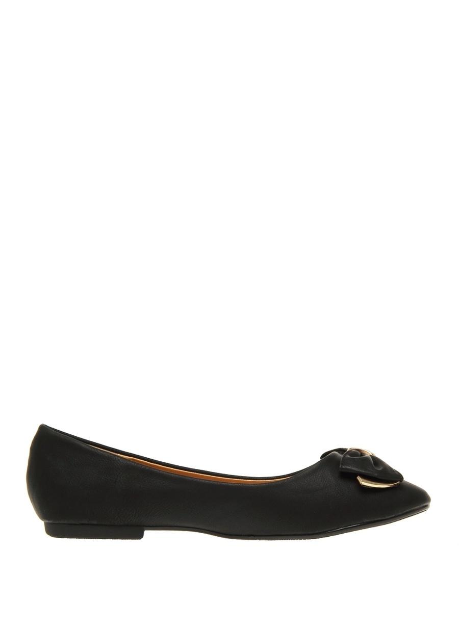 39 Siyah Casa Rossi Babet Ayakkabı Çanta Kadın