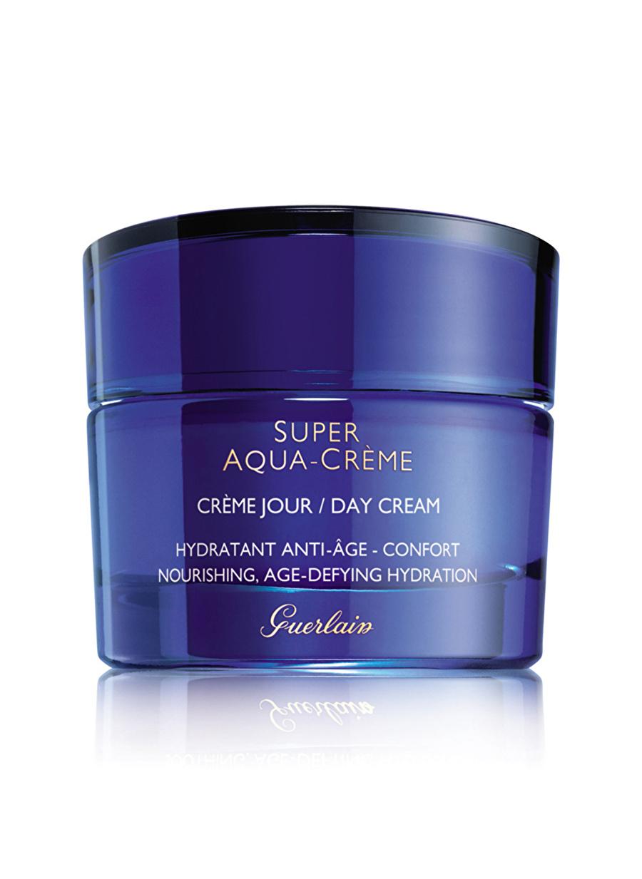 Standart Kadın Renksiz Guerlain Super Aqua Day Cream Nemlendirici Kozmetik Cilt Bakımı