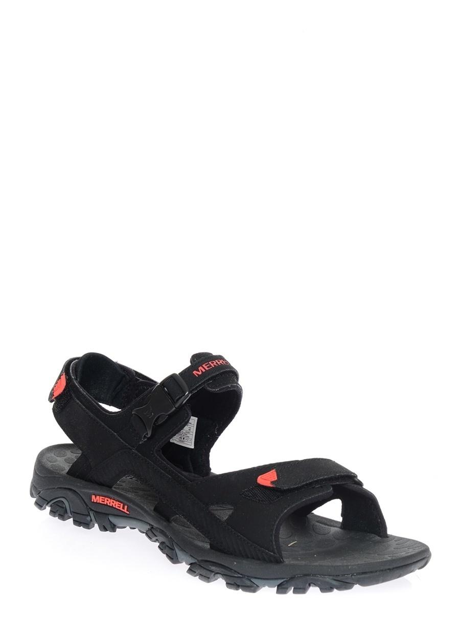 45 Siyah Merrell Sandalet Ayakkabı Çanta Erkek Terlik