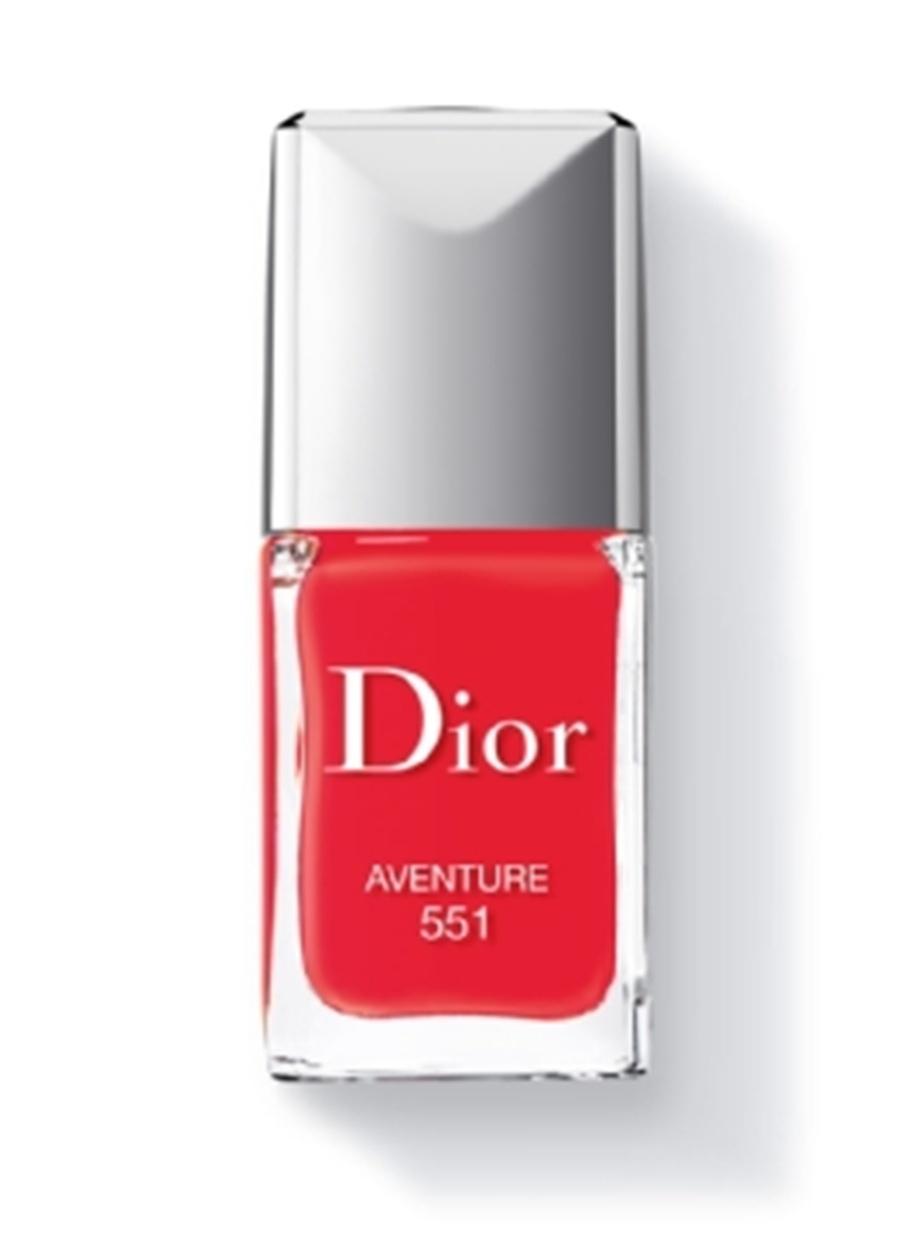 Standart Kadın Renksiz Dior Rouge Vernis 551 - İt Shade Oje Kozmetik Makyaj Tırnak Bakımı