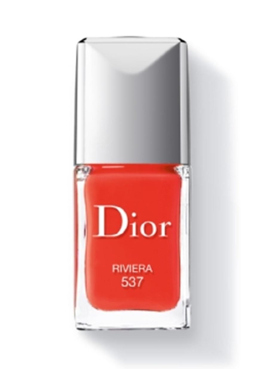 Standart Kadın Renksiz Dior Rouge Vernis 537 Oje Kozmetik Makyaj Tırnak Bakımı