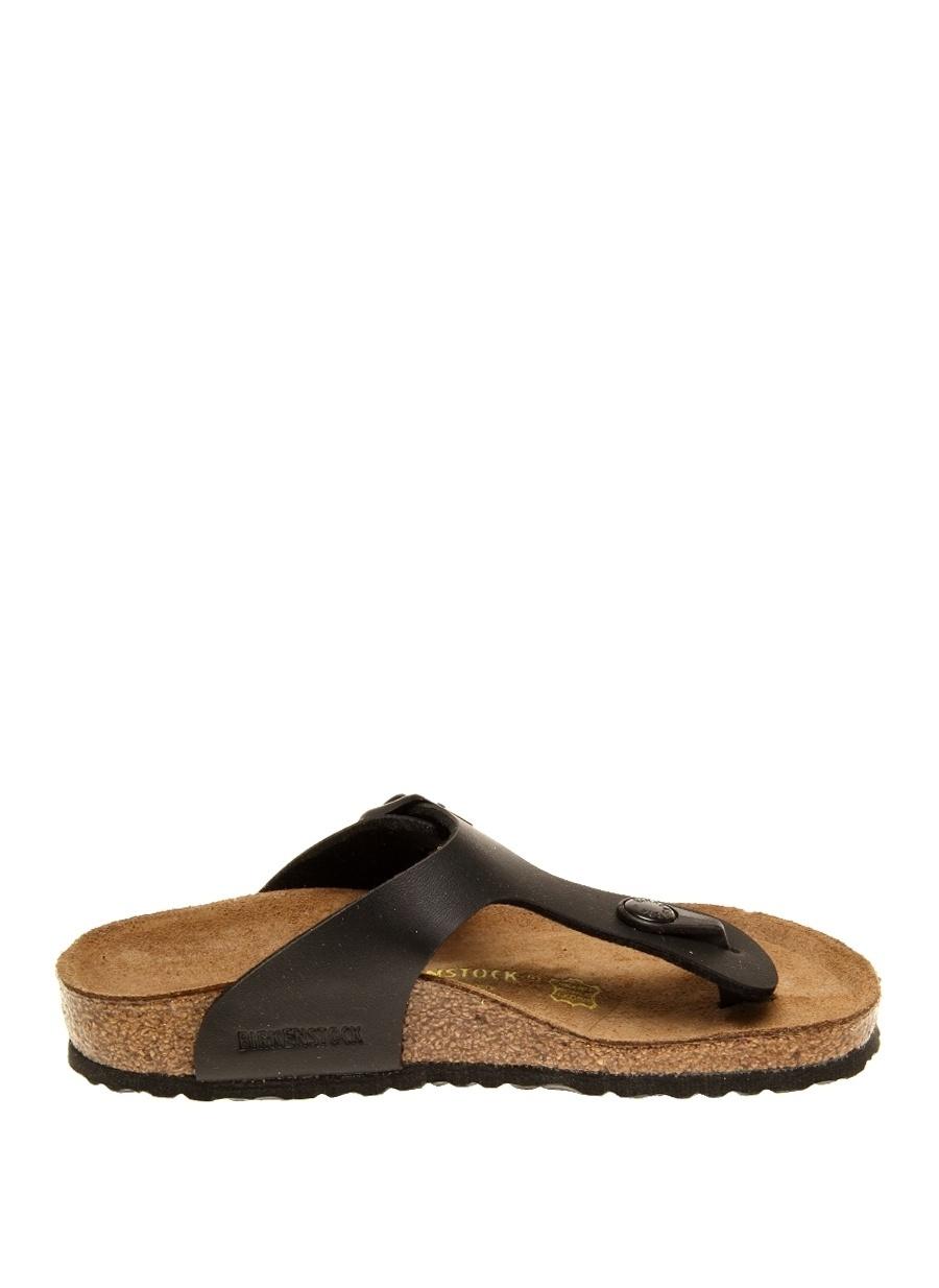 unisex Siyah Birkenstock Sandalet Çocuk Ayakkabı Terlik