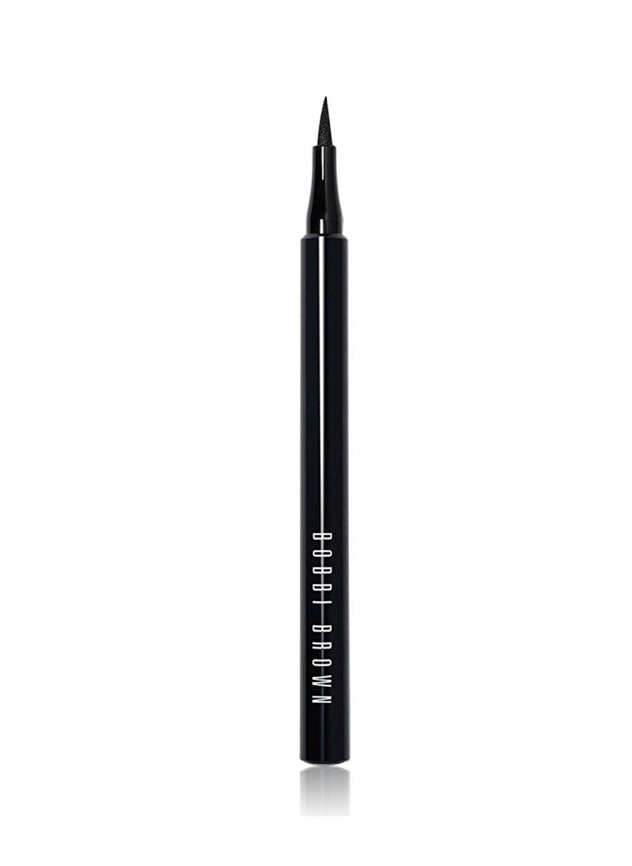 Standart Kadın Renksiz Bobbi Brown Blackest Ink Eyeliner Kozmetik Makyaj Göz Makyajı