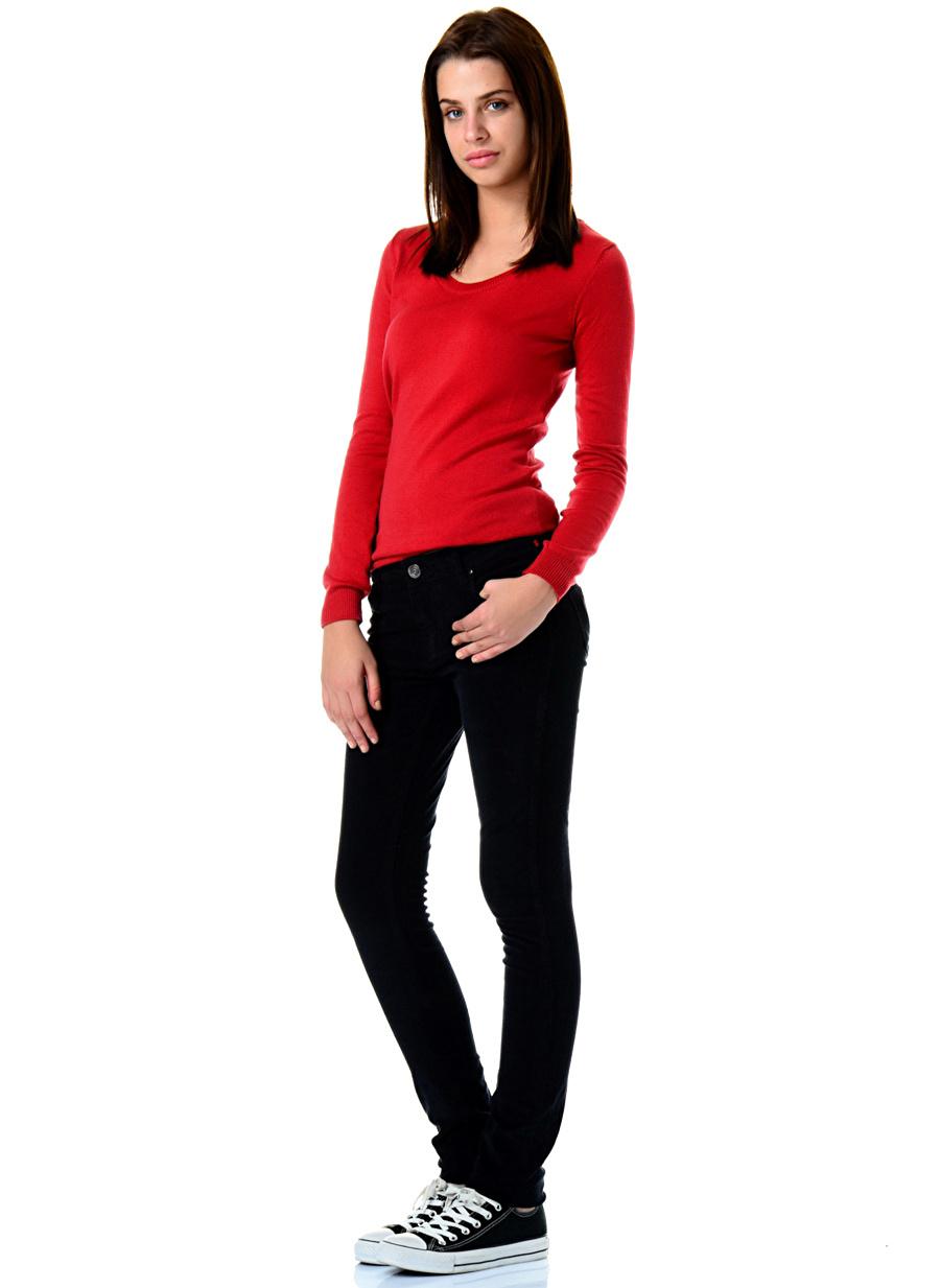 40 Bej Loox Pantolon Kadın Giyim