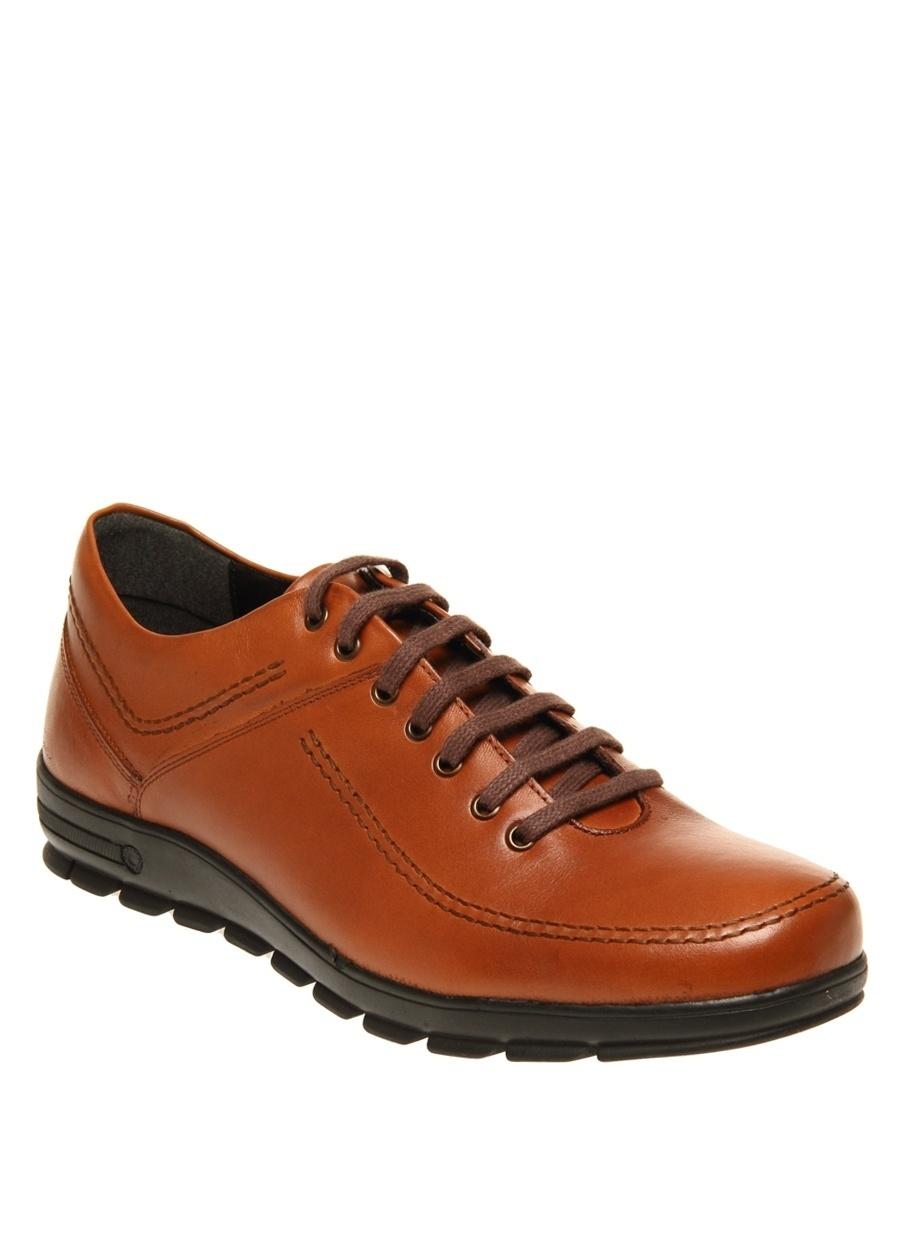 42 Taba New Vision Erkek Deri Günlük Ayakkabı Çanta