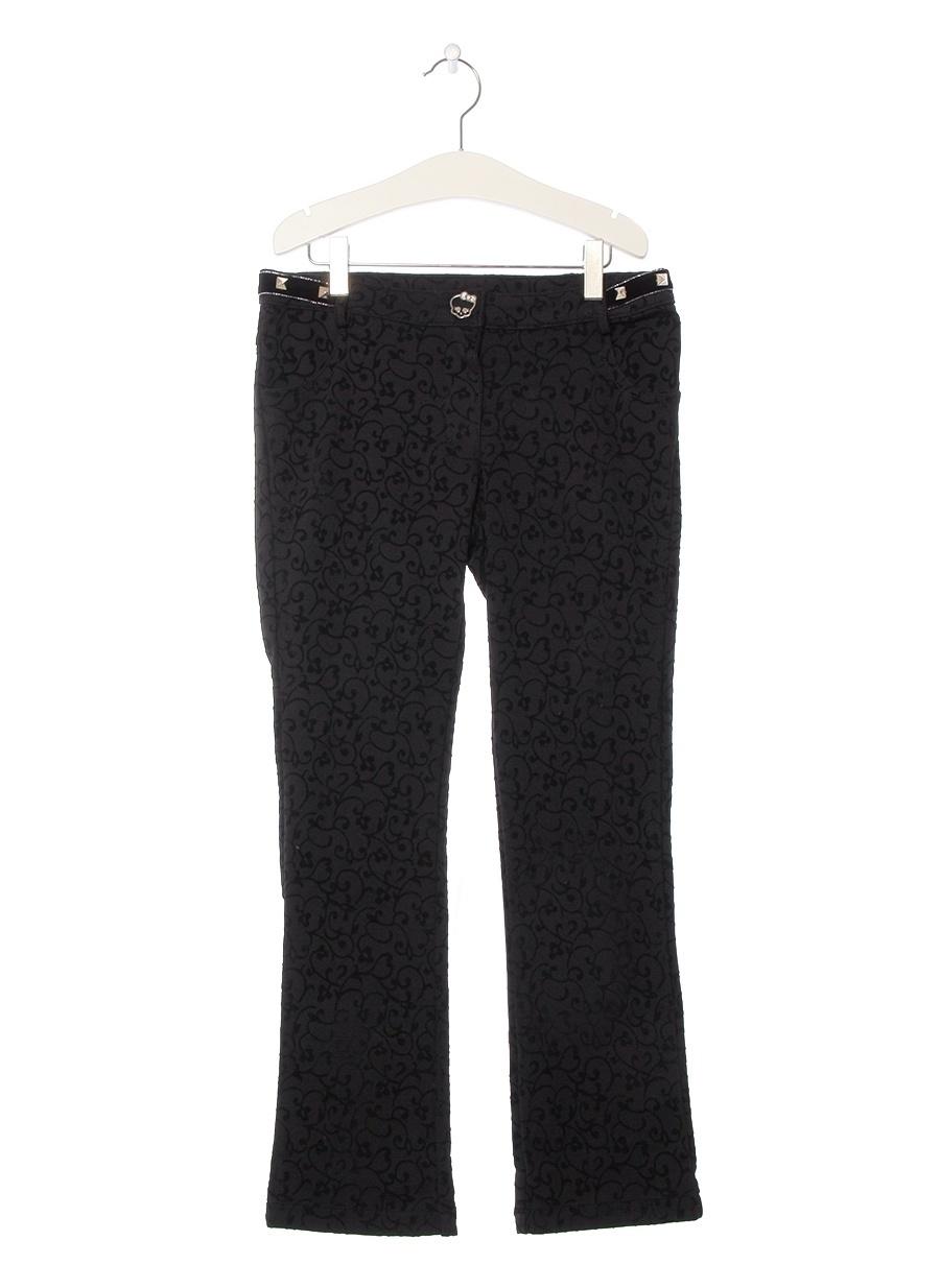 6 Yaş Kadın Siyah Monster High Pantolon Çocuk Giyim Tayt