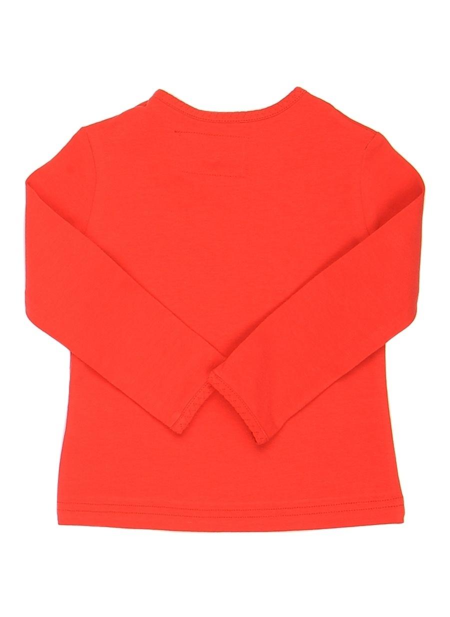 9 Ay Kadın Kırmızı Mammaramma T-Shirt Çocuk Giyim T-shirt