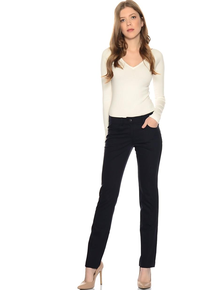 36 Koyu Lacivert Ekol Pantolon Kadın Giyim
