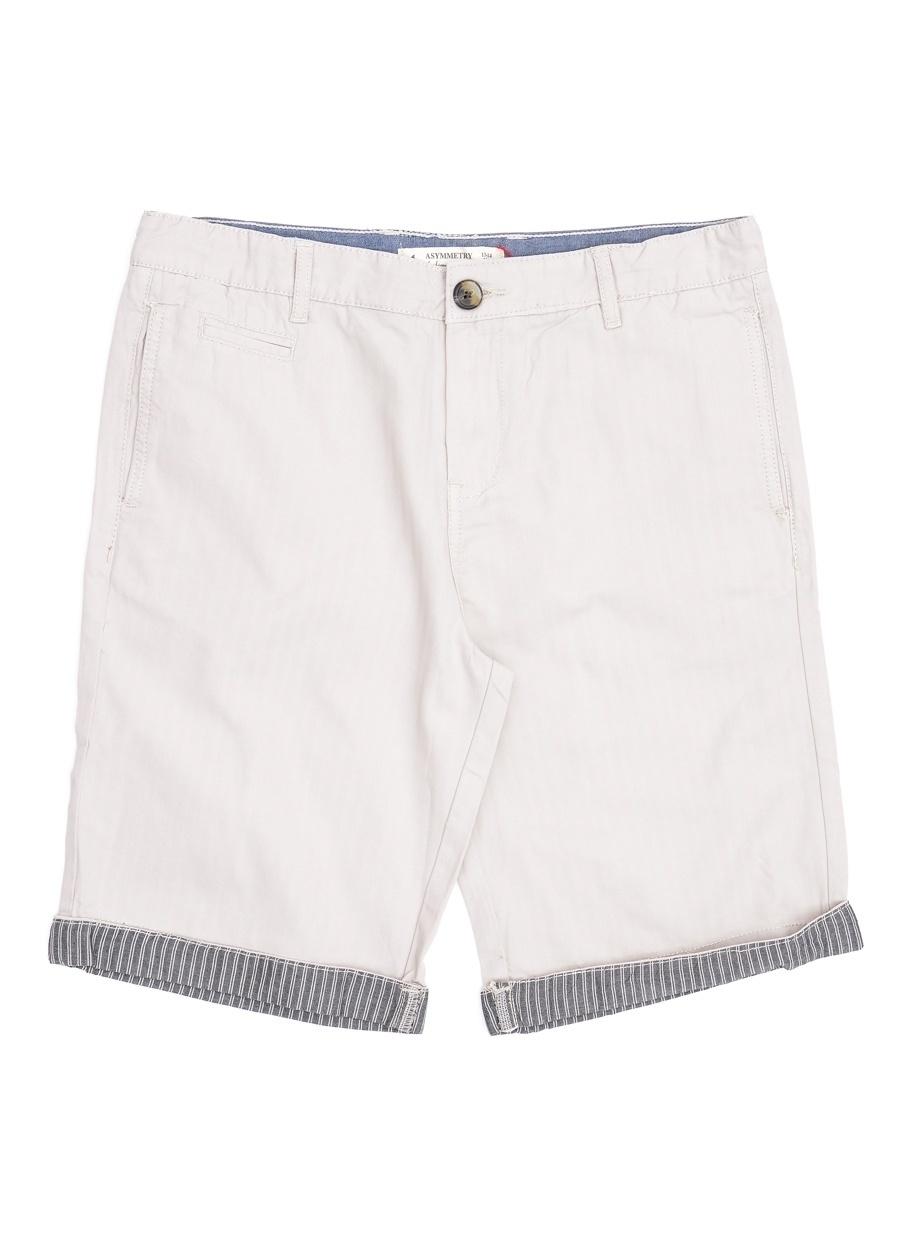 8 Yaş Erkek Taş Asymmetry Şort Çocuk Giyim Capri