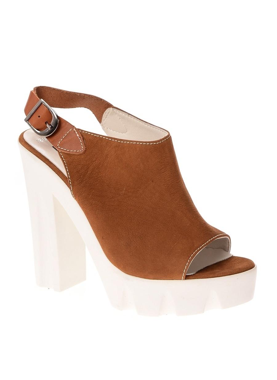 37 Taba Greyder Sandalet Kadın Terlik