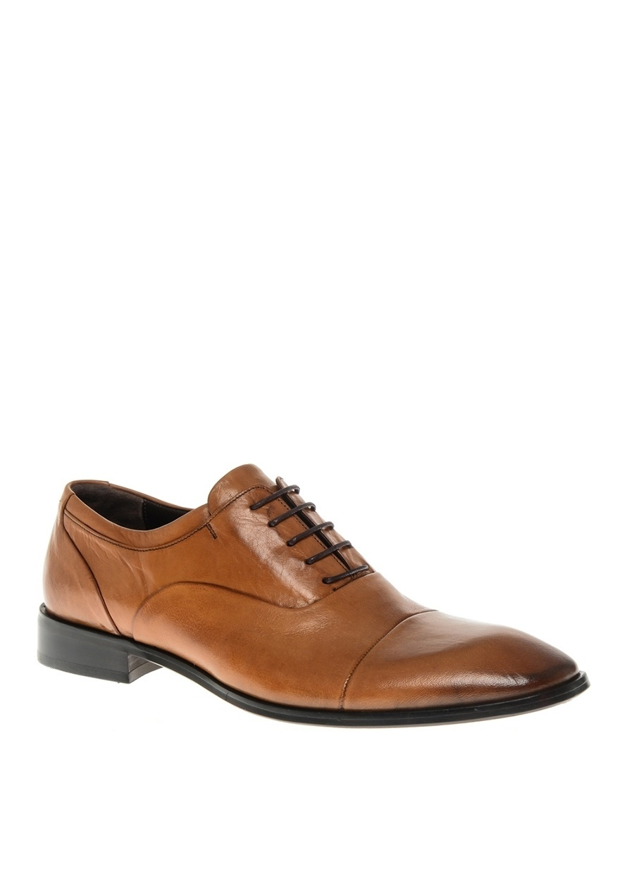 40 Taba Pierre Loti Erkek Bağcıklı Klasik Ayakkabı Çanta
