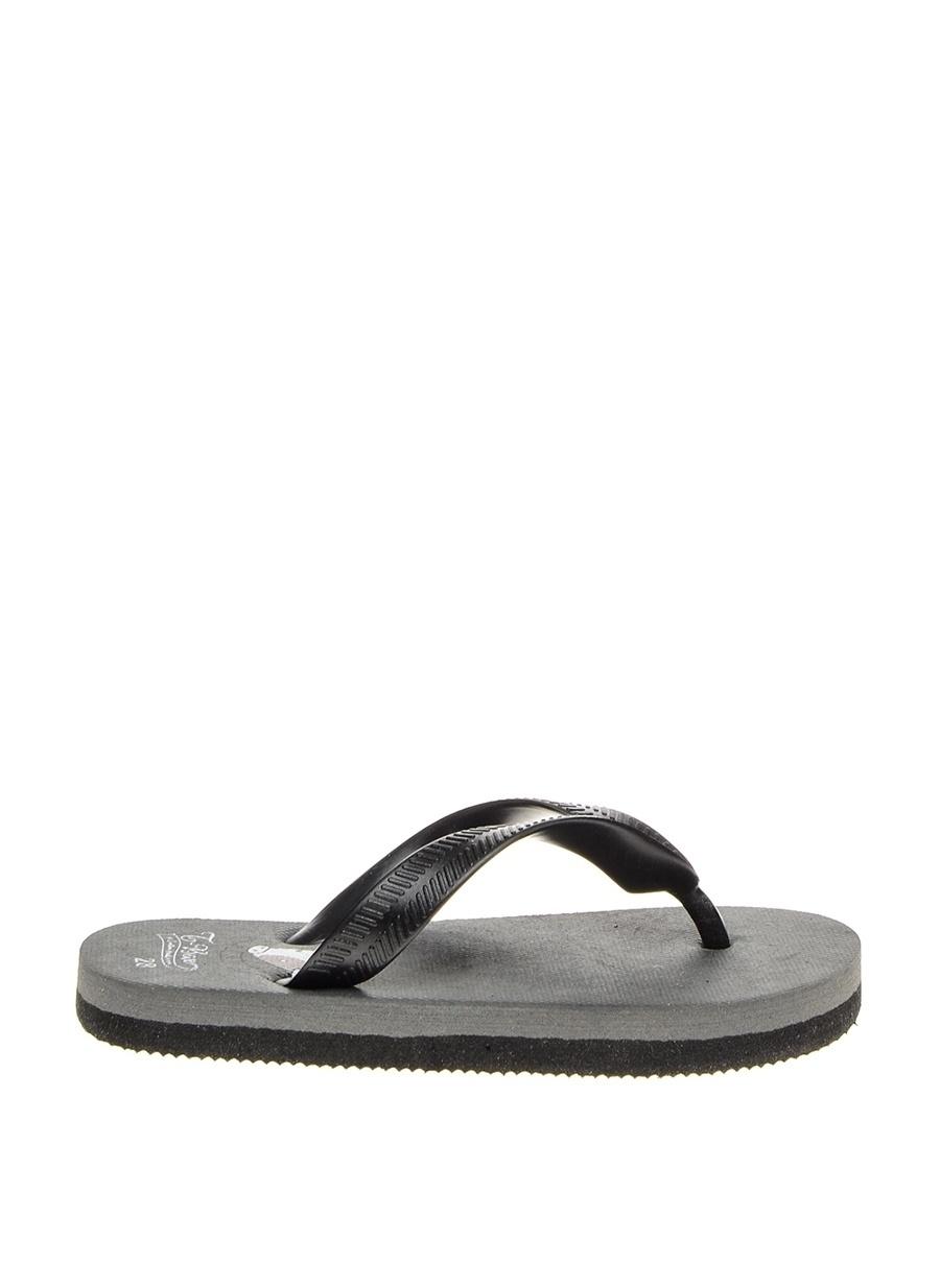 29 Erkek Gri T-Box Plaj Terliği Ayakkabı Çanta Çocuk Ayakkabıları Terlik Sandaletler