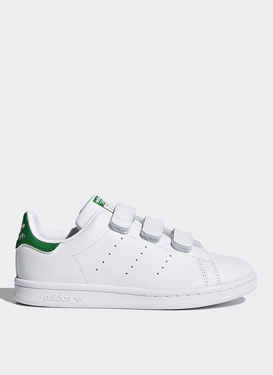 4-7 Yaş-Us 11 Erkek Beyaz adidas Stan Smith Yürüyüş Ayakkabısı Çanta Çocuk Ayakkabıları Koşu Antrenman