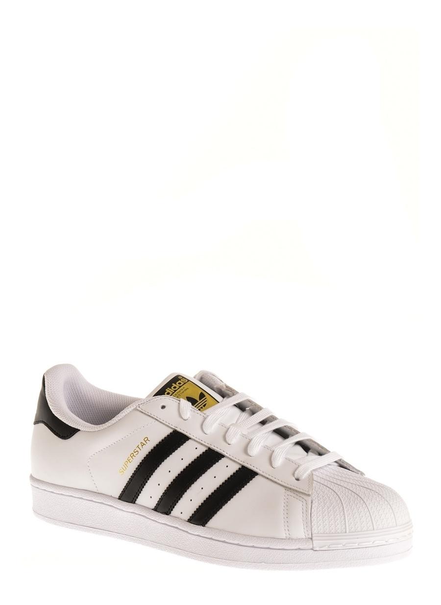 Us 11.5 Beyaz adidas Superstar Lıfestyle Ayakkabı Çanta Erkek Sneaker