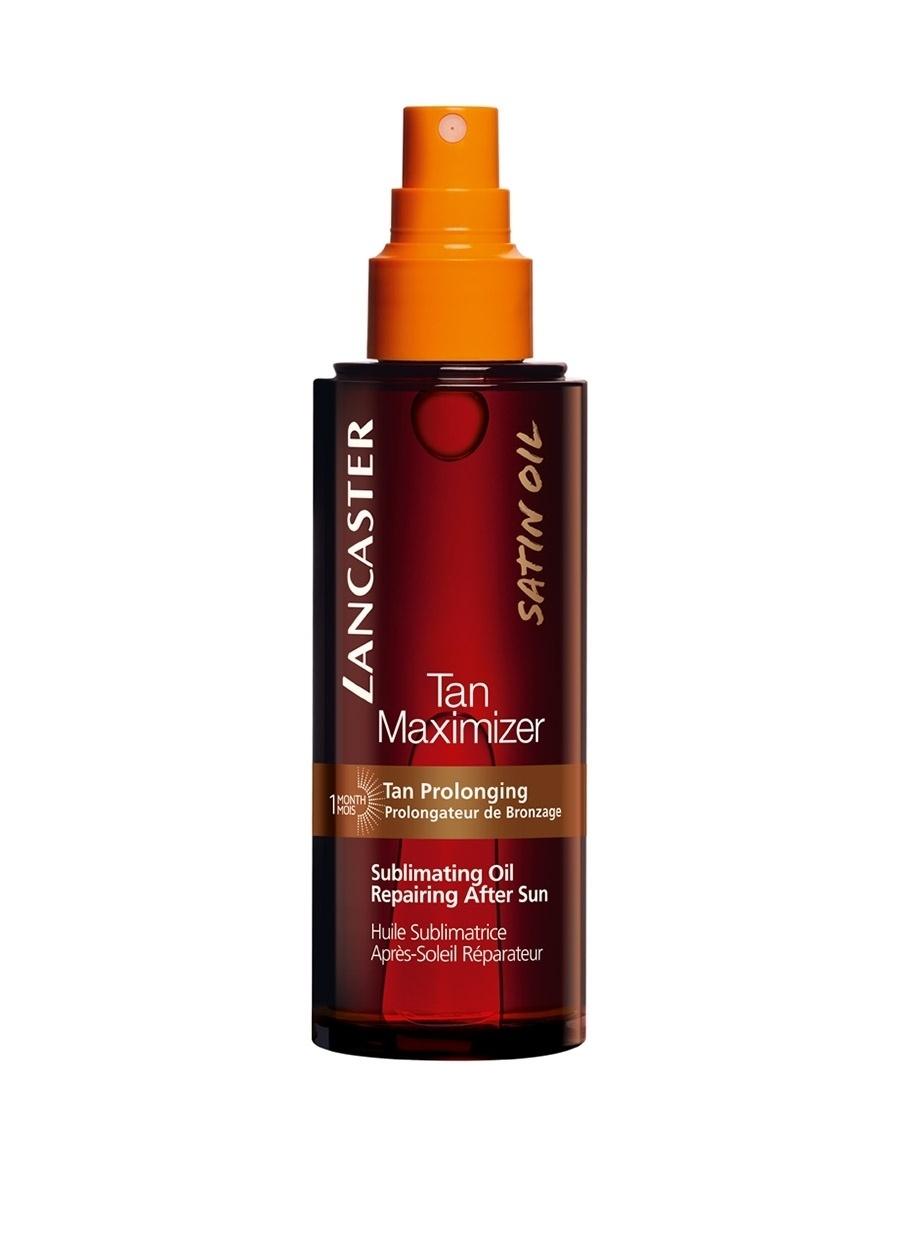 Standart unisex Renksiz Lancaster Tan Max. Sublimating Oil 150Ml Güneş Sonrası Ürün Kozmetik Ürünleri