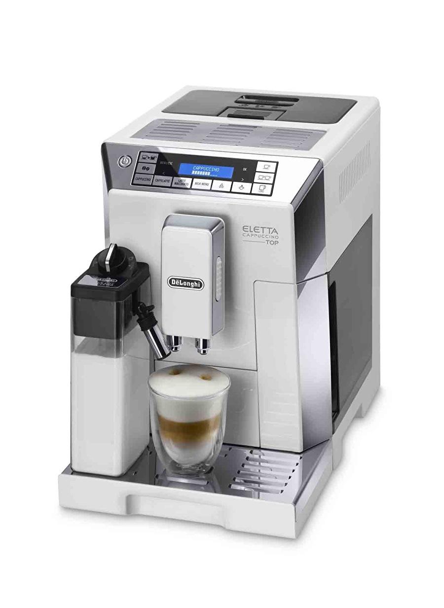 Standart unisex Renksiz Delonghi Eletta Cappuccino Top ECAM 45.760.W Kahve Makinesi Ev Elektrikli Aletleri Küçük