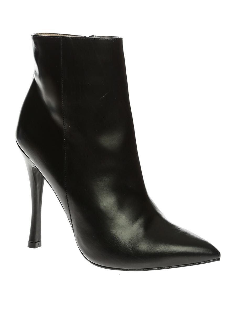 36 Siyah Lodi Bot Ayakkabı Çanta Kadın Çizme