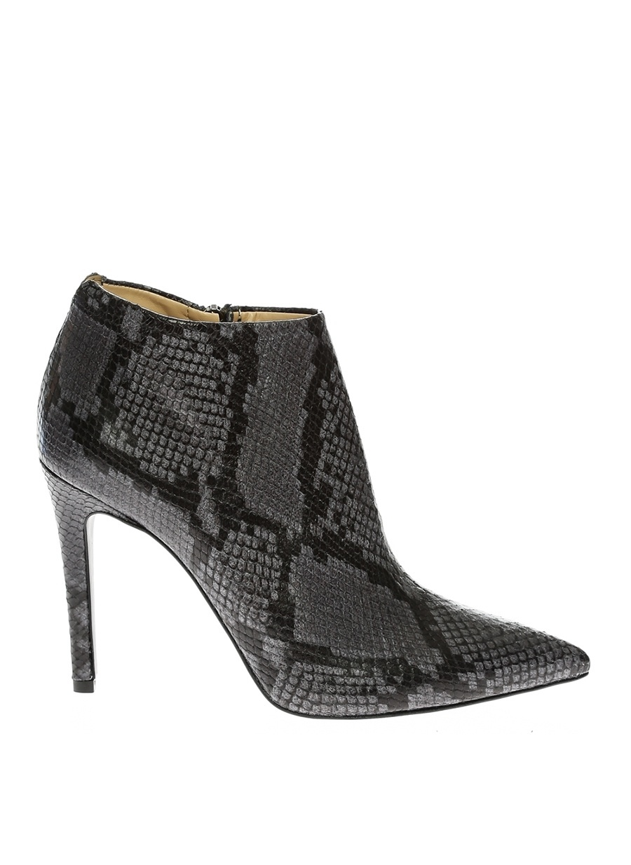 38 Gri Bianca Di Bot Ayakkabı Çanta Kadın Çizme