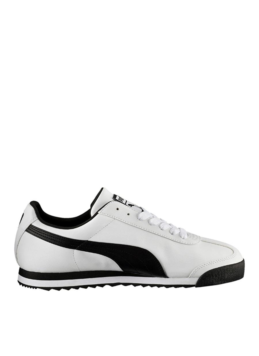 Us 12 Beyaz Puma Roma Basic Lifestyle Ayakkabı Çanta Erkek Sneaker