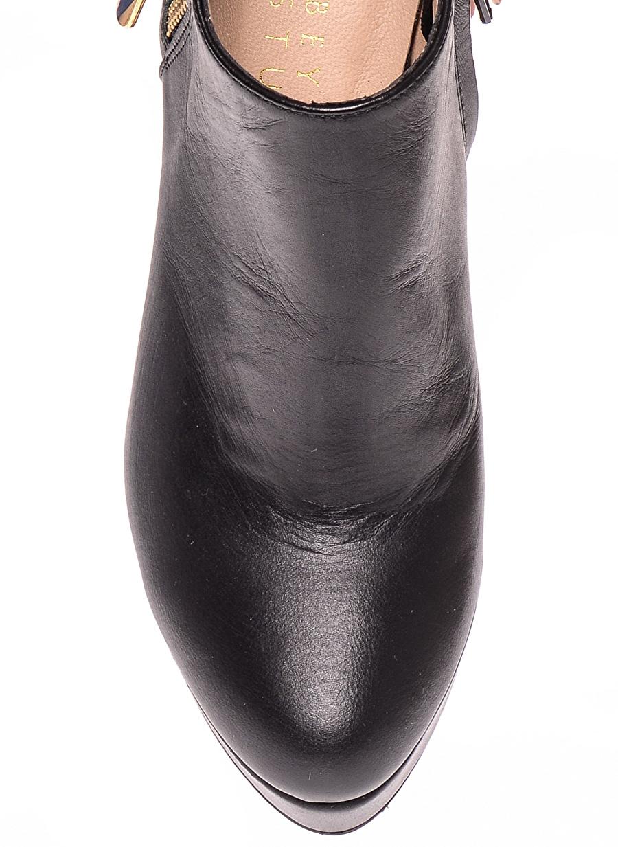 39 Taba House Of Camellia Bot Ayakkabı Çanta Kadın Çizme