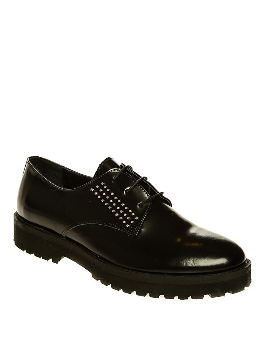 36 Siyah Black Pepper Düz Ayakkabı Çanta Kadın