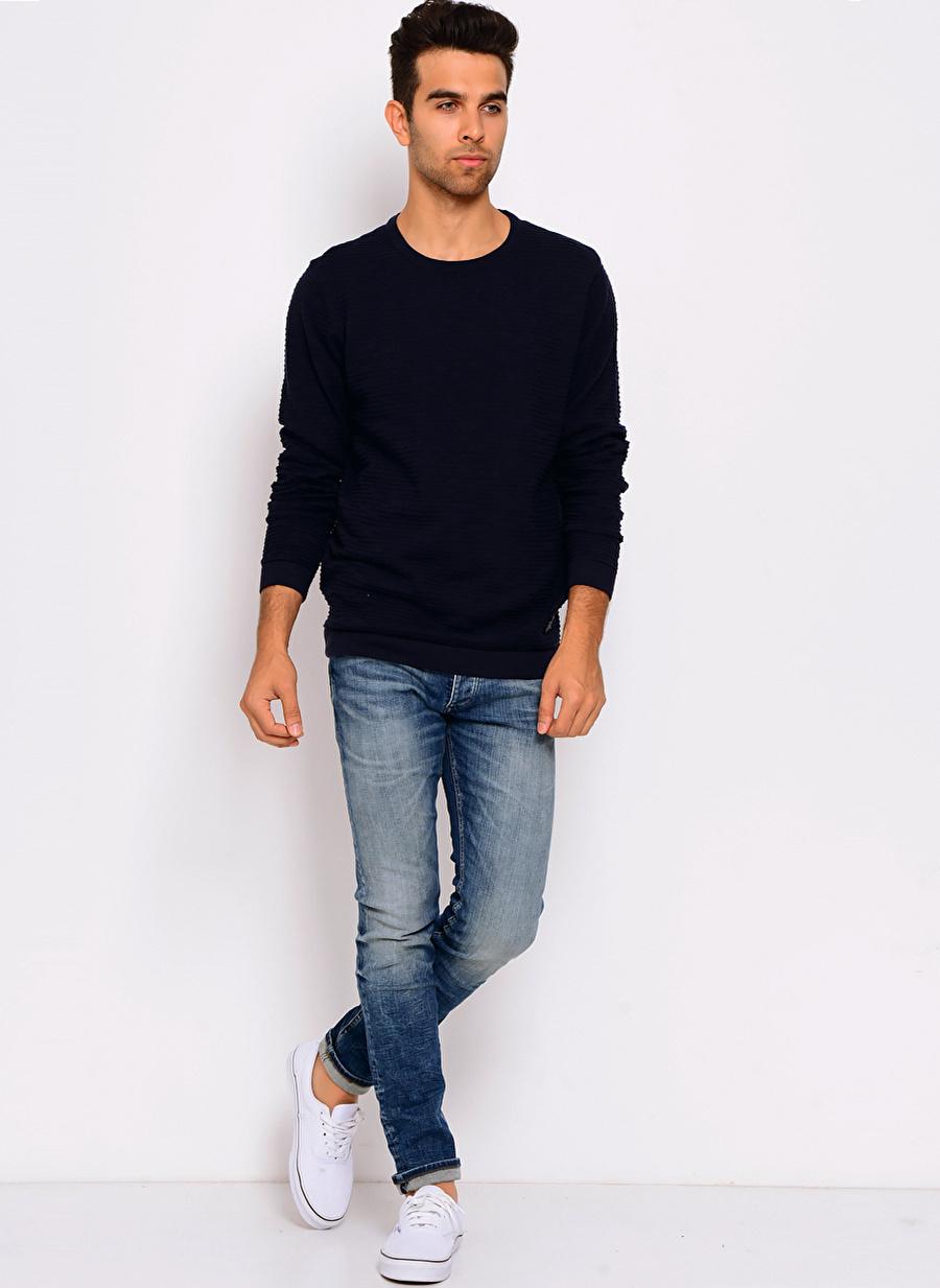 XL Koyu Lacivert Jack amp; Jones & Kazak Erkek Giyim Hırka