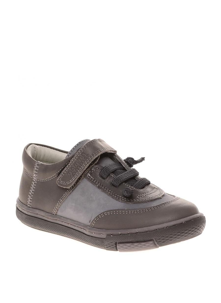 21 Erkek Gri Mammaramma Günlük Ayakkabı Çocuk