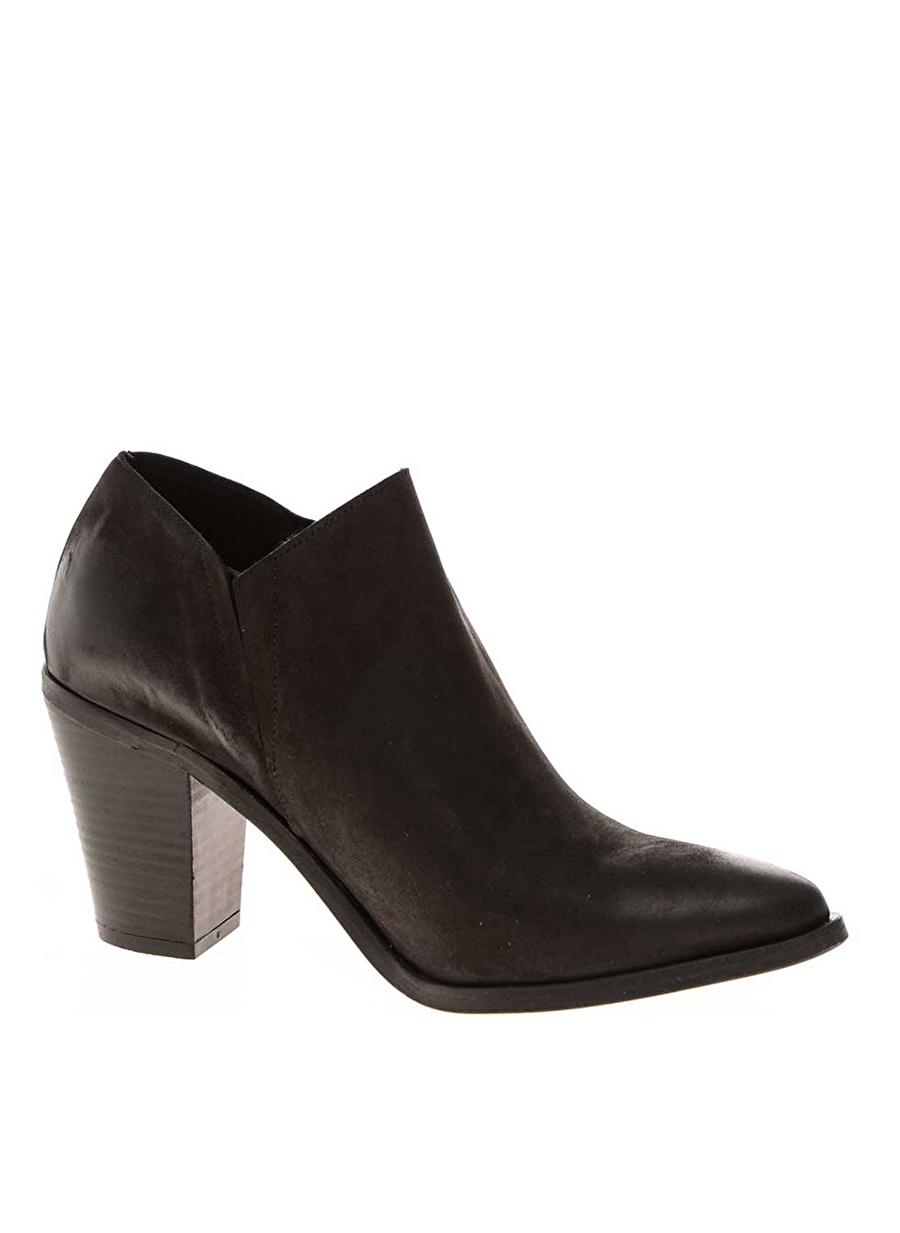 36 Siyah Pieces Bot Ayakkabı Çanta Kadın Çizme
