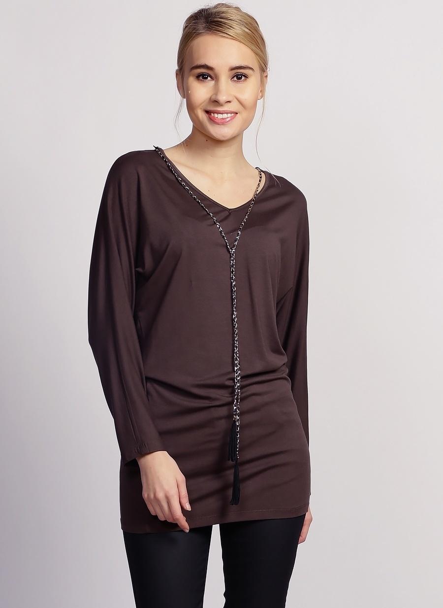 42 Haki Selen Bluz Kadın Giyim Gömlek
