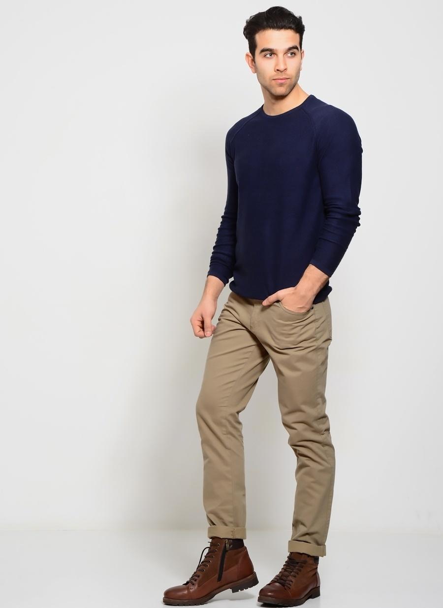 48 Vizon North Of Navy Klasik Pantolon Erkek Giyim