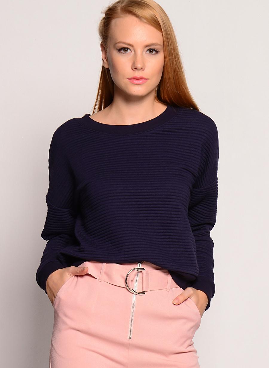 M Koyu Lacivert Mink Pink Tulum Kadın Giyim