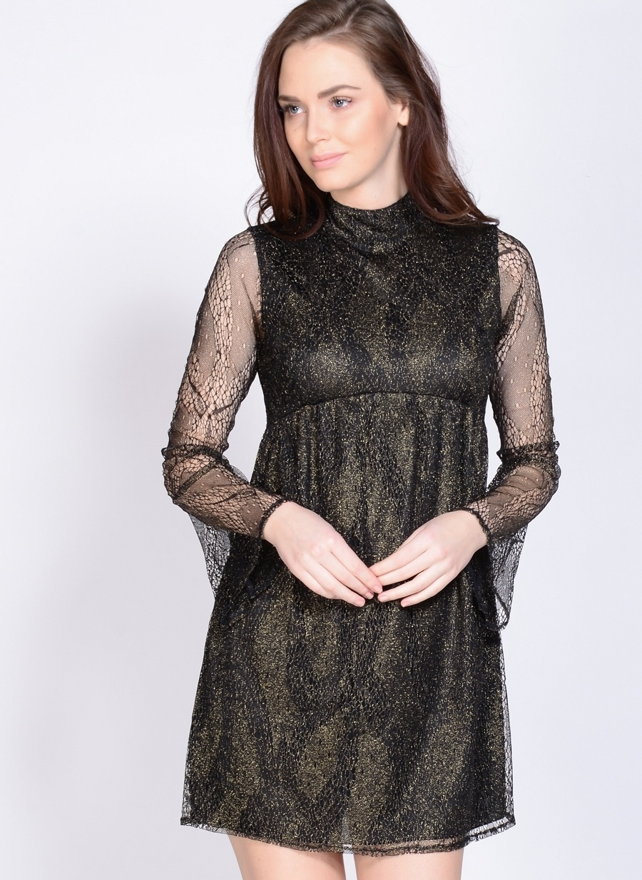 XS Dore Motel Rocks Elbise Kadın Giyim