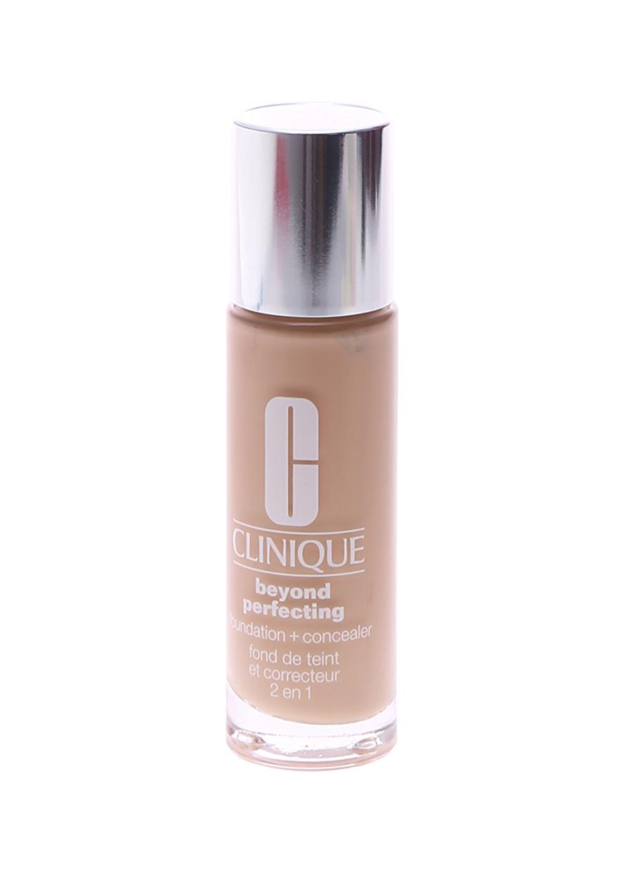 Standart Kadın Renksiz Clinique Beyond Perfectıng Fondöten - Alabaster Kozmetik Makyaj Yüz Makyajı