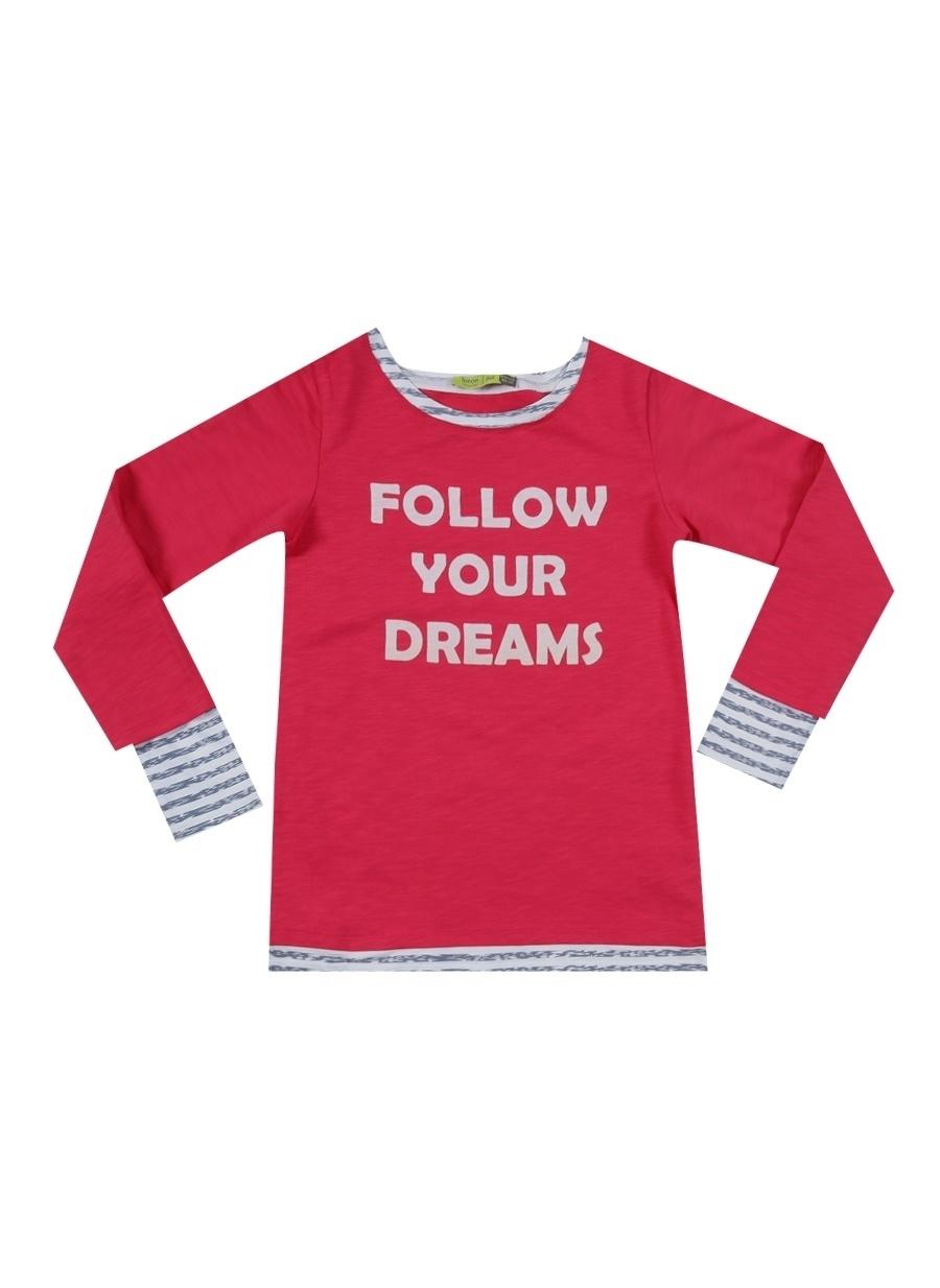 8 Yaş Erkek Kırmızı Limon Sweatshırt Çocuk Giyim Sweatshirt